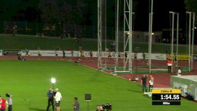 Men's 1500m - Grethen Runs Away With 3:35 Win