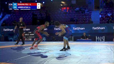 70 kg Repechage #3 - Anil Karuna Peli Gedara, Sri Lanka vs Arman Andreasyan, Armenia