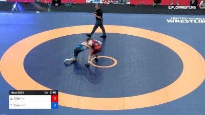79 kg 5th Place - Jake Allar, Minnesota Storm vs Tyler Dow, University Of Wisconsin