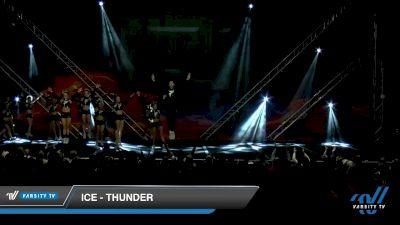 ICE - Thunder [2020 L6 Senior Coed - XSmall Day 2] 2020 GLCC: The Showdown Grand Nationals