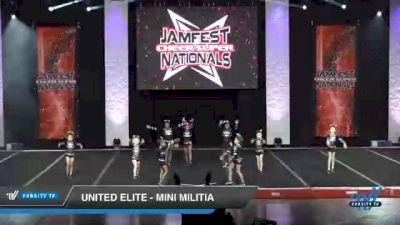 United Elite - Mini Militia [2021 L1 Mini - D2 Day 2] 2021 JAMfest Cheer Super Nationals
