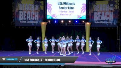 USA Wildcats - Senior Elite [2021 L6 Senior - Small Day 2] 2021 ACDA: Reach The Beach Nationals