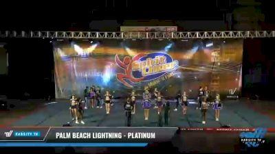 Palm Beach Lightning - PLATINUM [2021 L6 International Global Coed Day 2] 2021 South Florida DI & DII Nationals