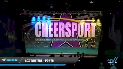 ACX Twisters - Power [2021 L3 Junior - Small - B Day 2] 2021 CHEERSPORT National Cheerleading Championship