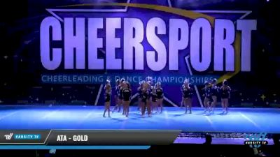 ATA - Gold [2021 L2 Youth - Small - A Day 1] 2021 CHEERSPORT National Cheerleading Championship