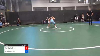 74 kg Prelims - Wade Mitchell, Panther Wrestling Club RTC vs Sonny Santiago, Tar Heel Wrestling Club