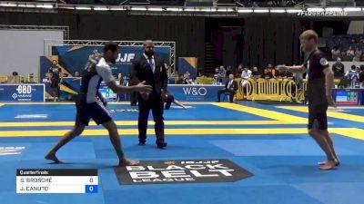 SEBASTIAN BROSCHÉ vs JAIME CANUTO 2019 World IBJJF Jiu-Jitsu No-Gi Championship