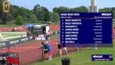 High School Mixed 800m Community, Finals 1