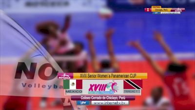Full Replay - 2019 NORCECA Womens XVIII Pan-American Cup - Group A - Jul 13, 2019 at 3:47 PM CDT