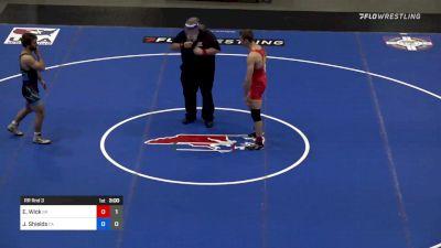 74 kg Rr Rnd 3 - Evan Wick, Team Simon Roberts vs Josh Shields, Team Carl Adams