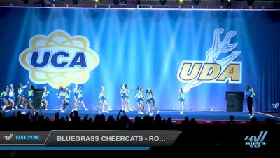 Bluegrass Cheercats - Royal Sabers [2018 Senior Restricted Coed - Small 5 Day 1] 2018 UCA Smoky Mountain Championship