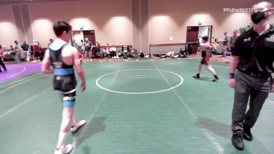 106 lbs Rr Rnd 2 - Reese Bunney, Curby 3 Style Wrestling Club vs Jacob Hanlon, Curby 3 Style Wrestling Club