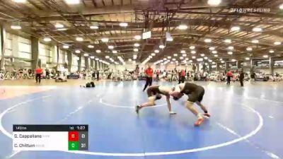 145 lbs Prelims - Gabe Cappellano, MI-Rev vs Cody Chittum, Minion Legends