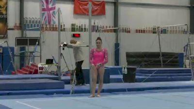 Ciena Alipio - Floor, Midwest Gymnastics Center - 2021 Women's World Championships Selection Event