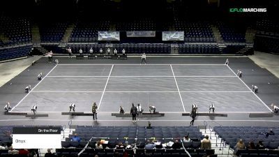 Onyx at 2019 WGI Guard Mid East Power Regional - Cintas Center