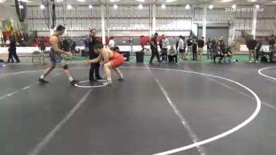 125 kg Consolation - Jacob Slinger, Pittsburgh Wrestling Club vs Zach Elam, Tiger Style Wrestling Club