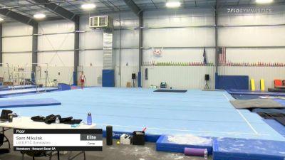 Sam Mikulak - Floor, U.S.O.P.T.C. Gymnastics - 2021 April Men's Senior National Team Camp
