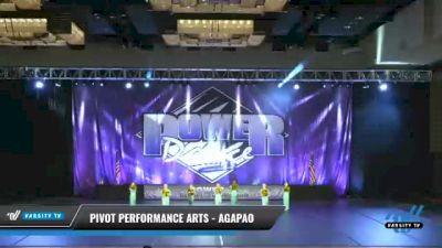 Pivot Performance Arts - Agapao [2021 Mini - Pom Day 2] 2021 ACP Power Dance Nationals & TX State Championship