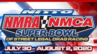 Full Replay | NMRA/NMCA Super Bowl of Street Legal Drag 8/1/20