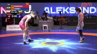 65 kg Bronze - Kamila Kulwicka, POL vs Taybe Yusein, BUL
