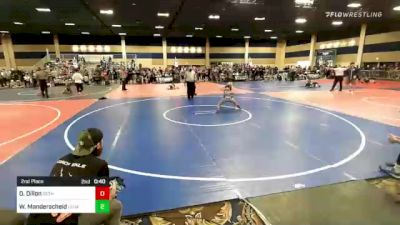 65 lbs Consi Of 4 - Colten Mahoney, Mid Valley Wolves vs Austin Armstrong, East Idaho Elite