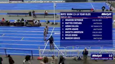 Youth Boys' 800m, Finals 1 - Age 13-14