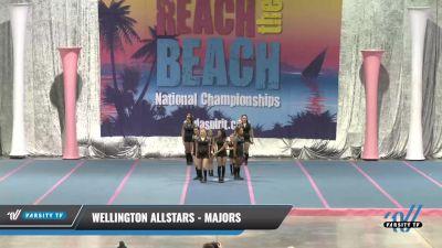 Wellington Allstars - Majors [2021 L3 Junior - Small] 2021 Reach the Beach Daytona National