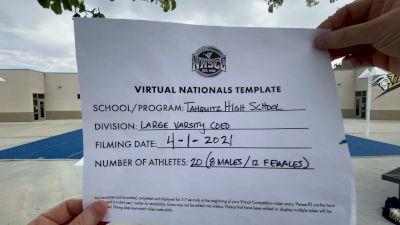 Tahquitz High School [Large Varsity Coed Virtual Semi Finals] 2021 UCA National High School Cheerleading Championship