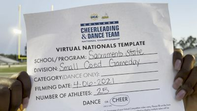 Sacramento State [Virtual Small Coed Game Day - Cheer Finals] 2021 UCA & UDA College Cheerleading & Dance Team National Championship