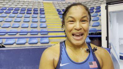 Alexandria Glaude Wins Pan Ams