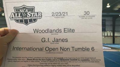Woodlands Elite - GI Janes [L6 International Open - NT] 2021 NCA All-Star Virtual National Championship