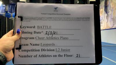 Cheer Athletics - Leopards [Junior Small 2] 2021MG Extravaganza Virtual Nationals