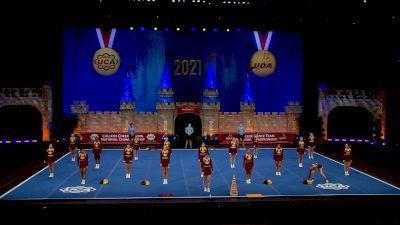 Pearl River Community College [2021 Open All Girl Semis] 2021 UCA & UDA College Cheerleading & Dance Team National Championship