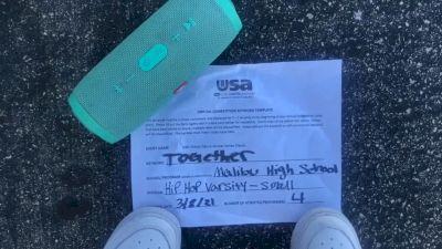 Malibu High School [Hip Hop Varsity - Small] 2021 USA Virtual Dance Winter Classic
