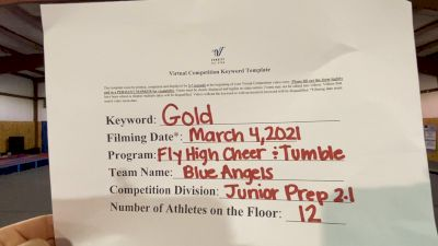 Fly High Cheer and Tumble [L2.1 Junior - PREP] 2021 Varsity Virtual Competition Series - Prep & Novice I