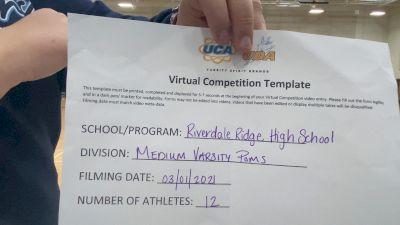 Riverdale Ridge High School [Medium Varsity - Pom] 2021 UDA West Spring Virtual Dance Challenge