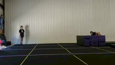 Lily Lindsey - Running Tumbling [Level 2 - Week 4] 2020 Varsity TV Level Legacy Challenge