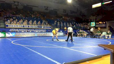 184 lbs Michael Nelson, NDSU vs Hunter Morse, Utah Valley