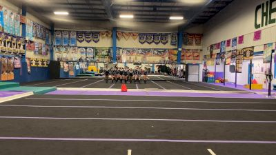 Tri-Town Competitive Cheerleading - Cyclones [L1 Performance Recreation - 14 and Younger (NON)] 2021 Varsity Recreational Virtual Challenge III