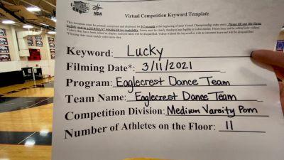 Eaglecrest High School - TEAM [Varsity - Pom] 2021 NCA & NDA Virtual March Championship