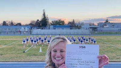 Orland High School [High School – Band Chant – Cheer] 2021USA Virtual Spirit Regional #2 and All Star Dance Regional #1
