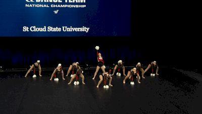 St Cloud State University [2021 Open Pom Finals] 2021 UCA & UDA College Cheerleading & Dance Team National Championship