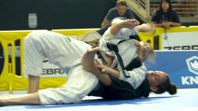 Yara Soares Collects A Nasty Collar Choke From The Back
