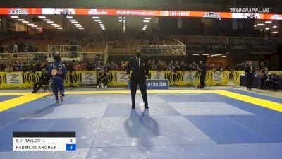 SHANE JAMIL HILL-TAYLOR vs FABRICIO ANDREY BATISTA JUNIOR 2021 Pan Jiu-Jitsu IBJJF Championship
