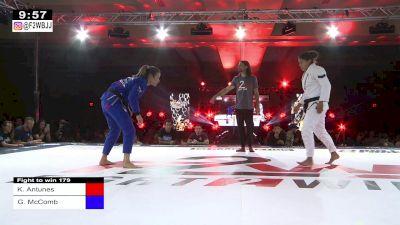 Karen Antunes vs Gabrielle Mc Comb | Fight To Win 179