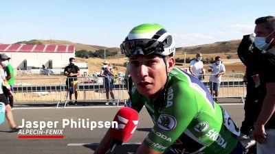 Jasper Philipsen: 'I Got Boxed In'