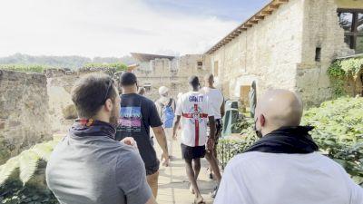Starting Trip In Antigua, Cindarella Got Married Here?