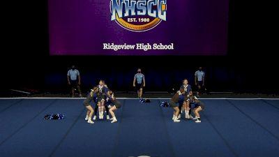 Ridgeview High School [2021 Small Coed Non Tumbling Semis] 2021 UCA National High School Cheerleading Championship