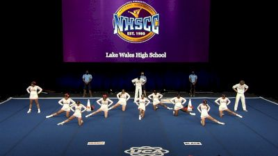 Lake Wales High School [2021 Small Coed Non Tumbling Finals] 2021 UCA National High School Cheerleading Championship