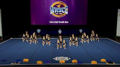 Live Oak Youth Rec [2021 Trad Rec Aff 10Y Finals] 2021 UCA National High School Cheerleading Championship